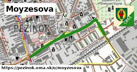 ilustrácia k Moyzesova, Pezinok - 546m