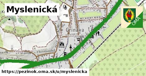 ilustrácia k Myslenická, Pezinok - 3,1km