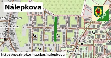 ilustrácia k Nálepkova, Pezinok - 165m
