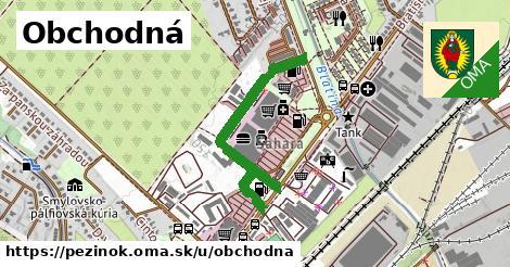 ilustrácia k Obchodná, Pezinok - 0,74km