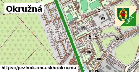 ilustrácia k Okružná, Pezinok - 1,02km
