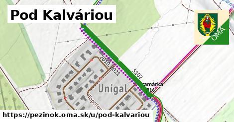 ilustrácia k Pod Kalváriou, Pezinok - 316m