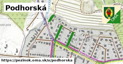 ilustrácia k Podhorská, Pezinok - 369m