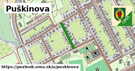 ilustrácia k Puškinova, Pezinok - 159m