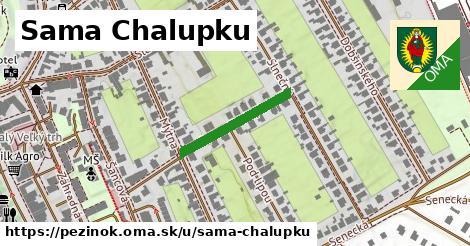 ilustrácia k Sama Chalupku, Pezinok - 195m