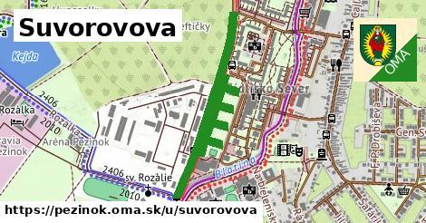 ilustrácia k Suvorovova, Pezinok - 1,30km