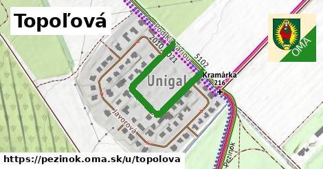 ilustrácia k Topoľová, Pezinok - 376m