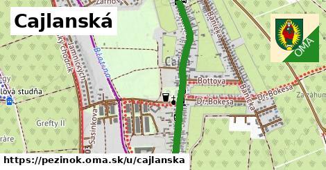 ilustrácia k Cajlanská, Pezinok - 2,1km
