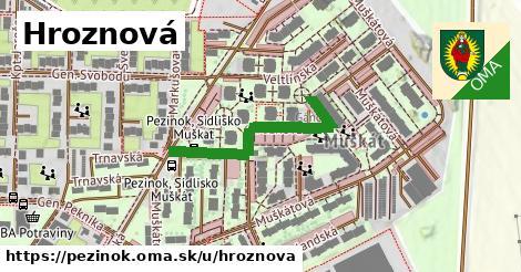 ilustrácia k Hroznová, Pezinok - 324m