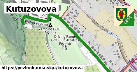 ilustrácia k Kutuzovova, Pezinok - 0,73km