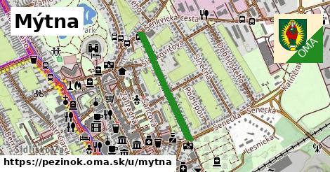 ilustrácia k Mýtna, Pezinok - 537m