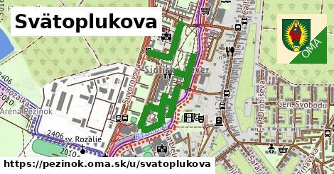 ilustrácia k Svätoplukova, Pezinok - 1,10km
