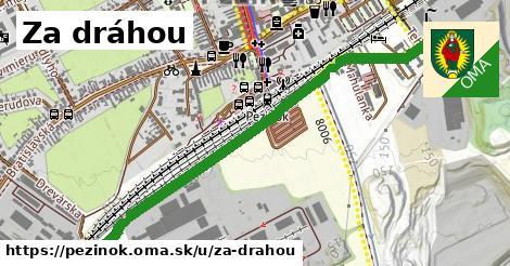 ilustrácia k Za dráhou, Pezinok - 1,18km