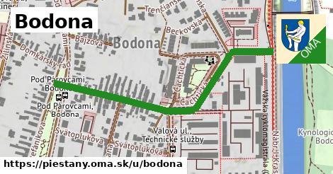 ilustračný obrázok k Bodona, Piešťany
