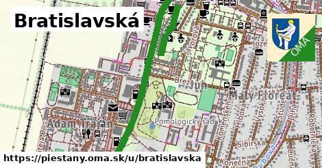 ilustračný obrázok k Bratislavská, Piešťany