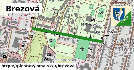 ilustrácia k Brezová, Piešťany - 395m