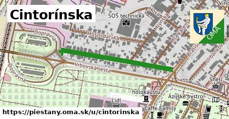 ilustrácia k Cintorínska, Piešťany - 361m