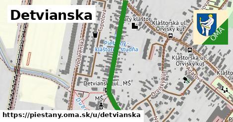 ilustrácia k Detvianska, Piešťany - 385m