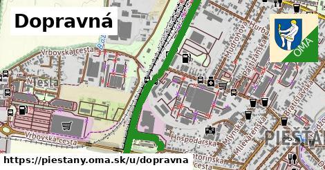 ilustrácia k Dopravná, Piešťany - 1,24km