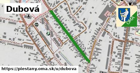 ilustrácia k Dubová, Piešťany - 347m