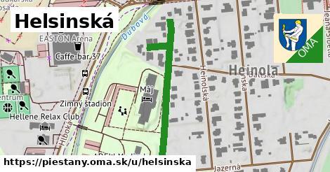 ilustračný obrázok k Helsinská, Piešťany
