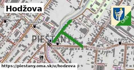 ilustrácia k Hodžova, Piešťany - 146m