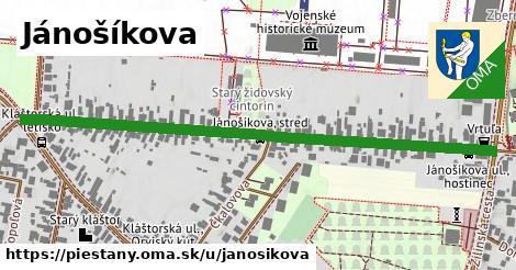 ilustračný obrázok k Jánošíkova, Piešťany