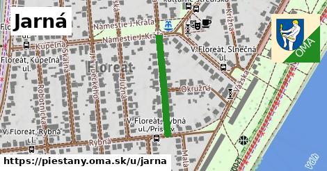 ilustrácia k Jarná, Piešťany - 232m