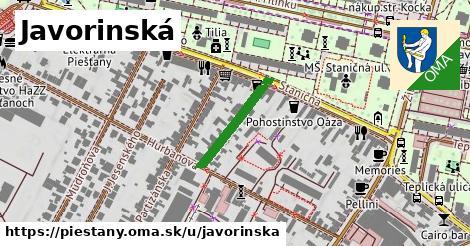 ilustrácia k Javorinská, Piešťany - 177m