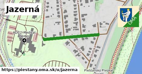 ilustračný obrázok k Jazerná, Piešťany