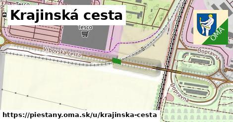 ilustračný obrázok k Krajinská cesta, Piešťany