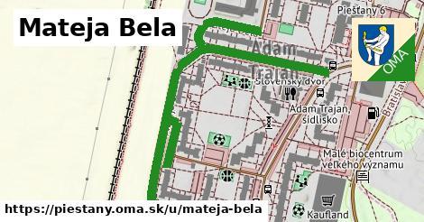 ilustračný obrázok k Mateja Bela, Piešťany