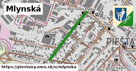 ilustrácia k Mlynská, Piešťany - 337m