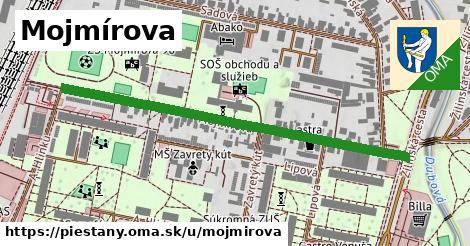 ilustrácia k Mojmírova, Piešťany - 593m