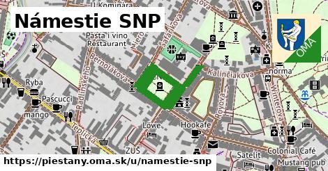 ilustrácia k Námestie SNP, Piešťany - 449m