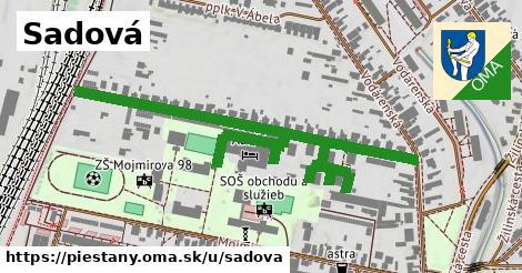 ilustrácia k Sadová, Piešťany - 0,84km