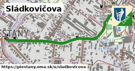 ilustrácia k Sládkovičova, Piešťany - 0,71km