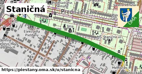 ilustrácia k Staničná, Piešťany - 1,21km