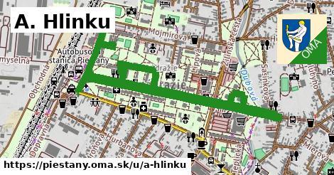 ilustrácia k A. Hlinku, Piešťany - 2,7km