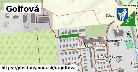 ilustrácia k Golfová, Piešťany - 106m