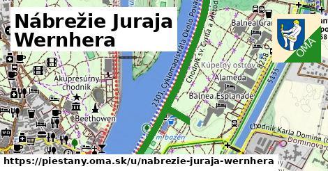 Nábrežie Juraja Wernhera, Piešťany