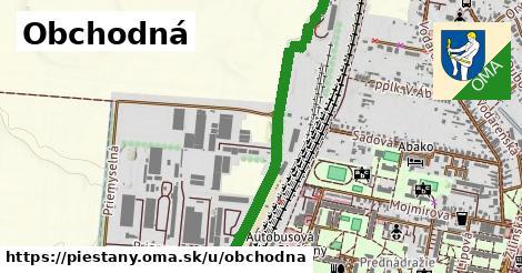 ilustrácia k Obchodná, Piešťany - 1,86km