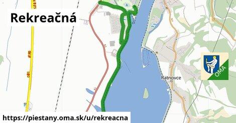 ilustrácia k Rekreačná, Piešťany - 5,0km