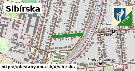 ilustrácia k Sibírska, Piešťany - 172m