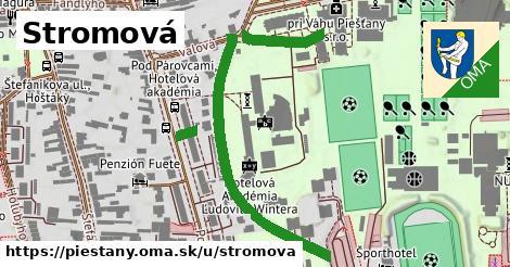 ilustrácia k Stromová, Piešťany - 566m