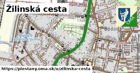 ilustrácia k Žilinská cesta, Piešťany - 2,9km