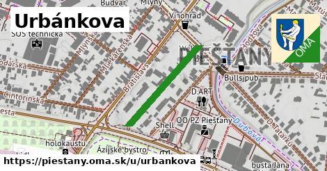 ilustrácia k Urbánkova, Piešťany - 245m