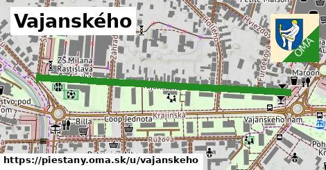 ilustrácia k Vajanského, Piešťany - 584m