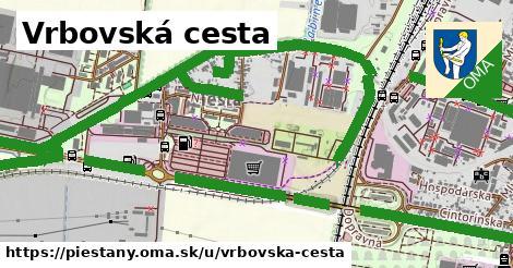 ilustračný obrázok k Vrbovská cesta, Piešťany