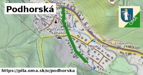 ilustrácia k Podhorská, Píla - 322m
